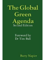 Front cover of book: The Global Green Agenda (Second Edition) by Barry Napier