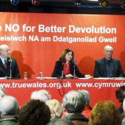 True Wales Launch Event 19 January 2011 No Campaign